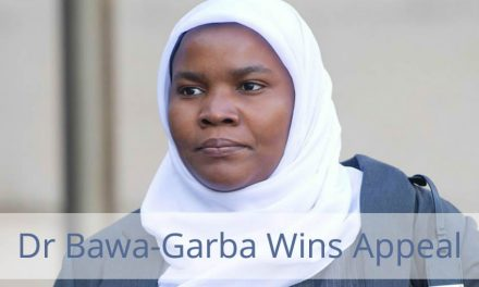 Victory for Bawa-Garba and the Whole Profession